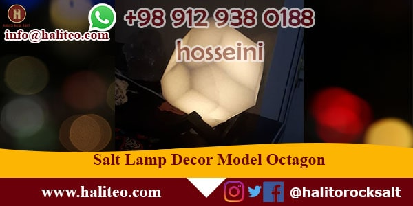 persian salt lamp decor