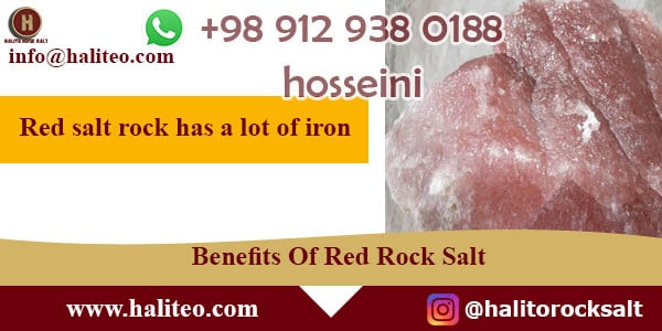 wholesale red rock salt