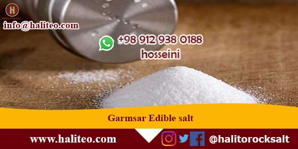 Garmsar Edible Salt
