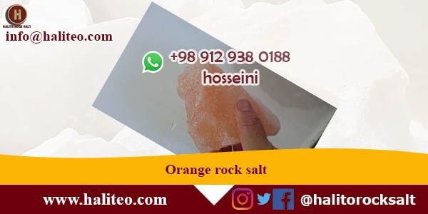Export Orange rock salt