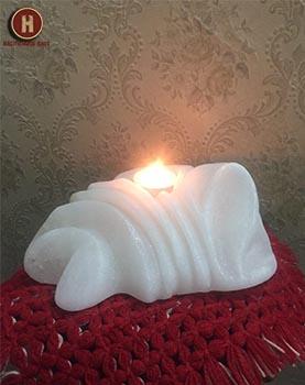 salt candle