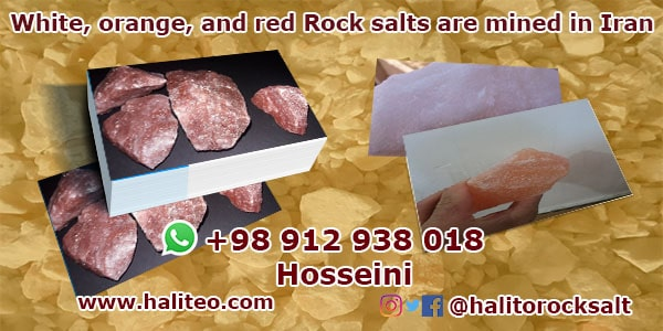 iran rock salt market