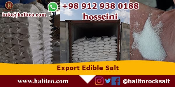 Export Iran rock salt