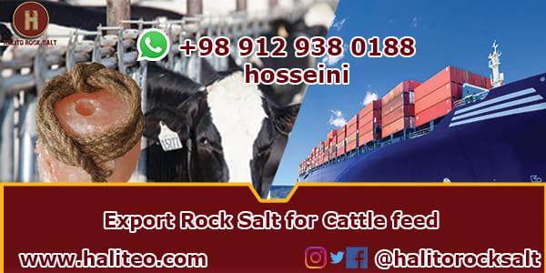 rock salt for cattle feed
