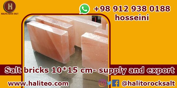 kinds of salt bricks