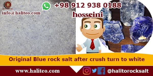 persian blue salt rock