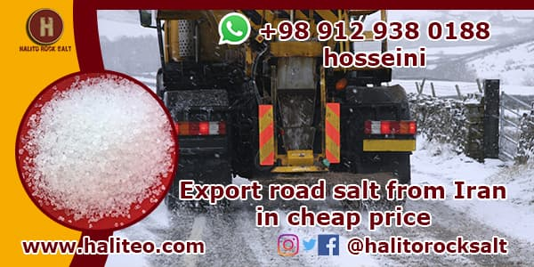 road salt in Iran