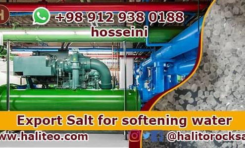 Salt for softening water