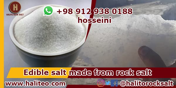 Export refined salt