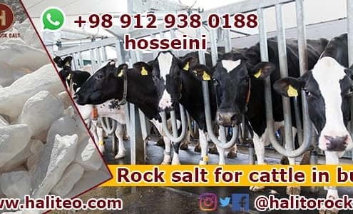 Rock salt for cows