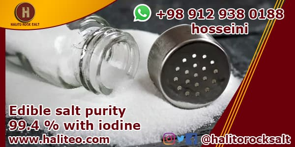 Recrystallize table salt