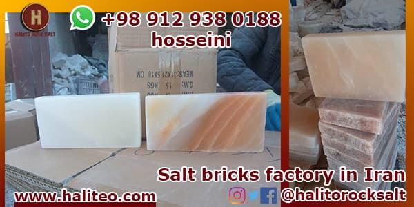 Salt bricks distribution