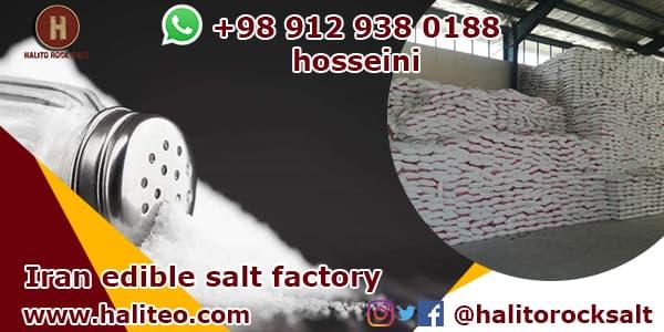 Edible salt supplier