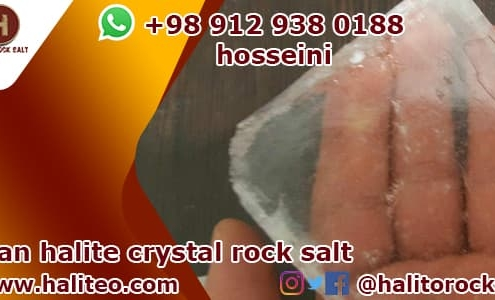 Halite crystal rock salt